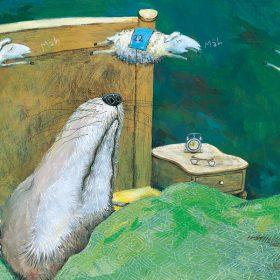 wenn die Möpse Schnäpse trinken Schafe Bilderbuch Aufbau-Verlag Berlin
