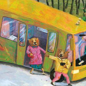 wenn die Möpse Schnäpse trinken Bus Bilderbuch Aufbau-Verlag Berlin